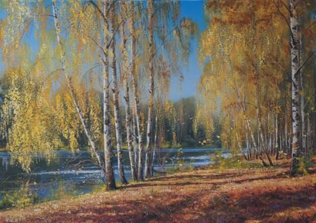 Пейзажи Виктора Юшкевича