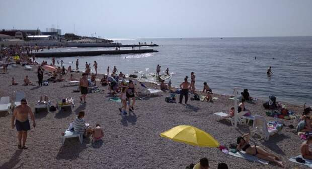 Севастопольские пляжи оказались непригодны для отдыха инвалидов