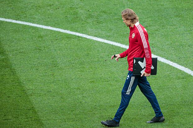 Тренер россиян оценил шансы на матч со словенцами