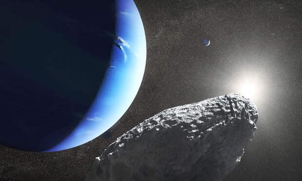 Луна Нептуна Гиппокамп могла отколоться от другого спутника – Протея
