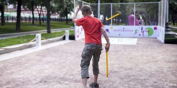 Окружные соревнования по городошному спорту пройдут в парке на Ленинградке