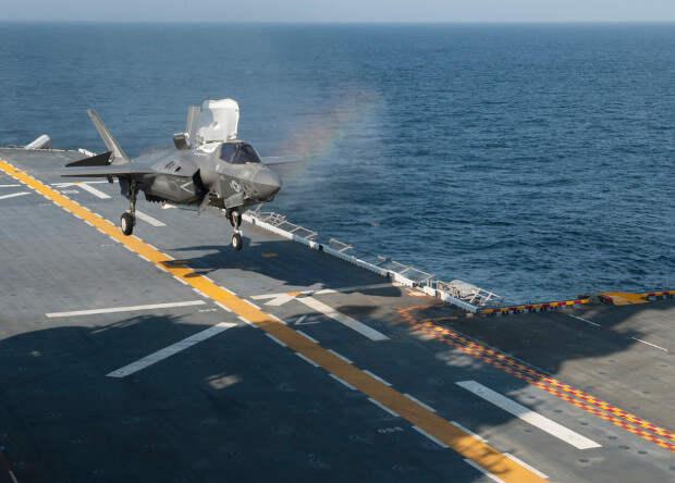Систему точной посадки на корабль испытали в океане