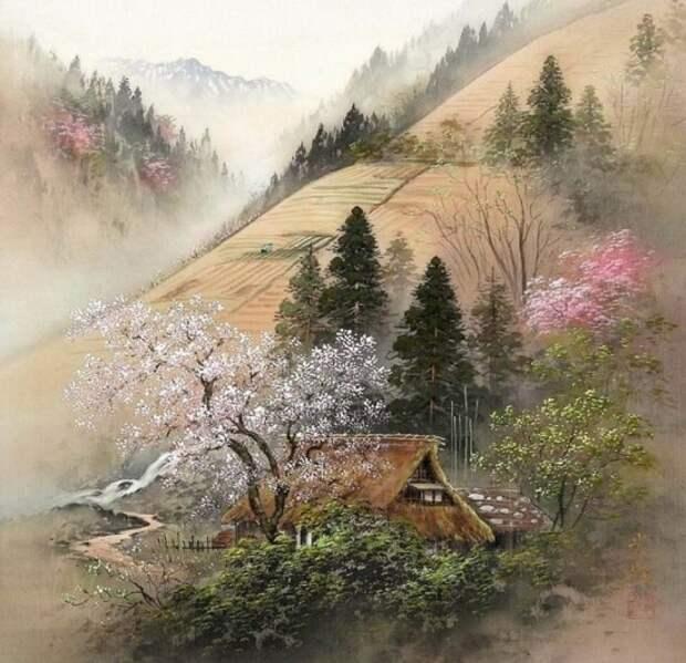 художник Коукеи Кодзима (Koukei Kojima) картины – 19