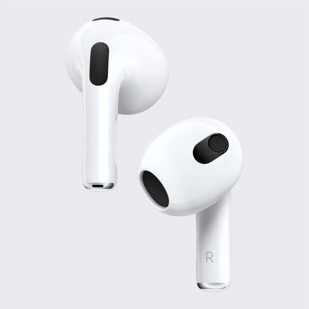 Apple представила новую модель наушников AirPods