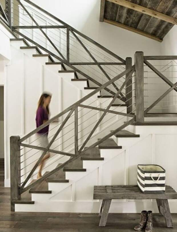 Идеи для Вашей лестницы. Часть 1.