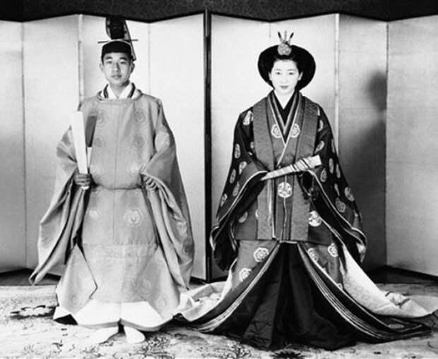 Императорская свадьба в Японии, 1959 г.
