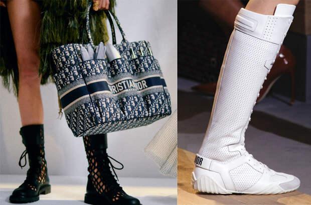 Обувь на плоском ходу - необычный ход для Dior!
