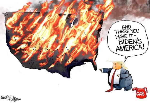 Армия США и избирательный кризис
