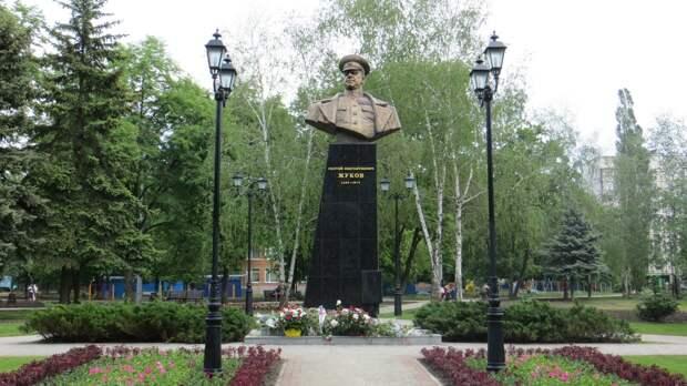 Харьков отвесил нацистам оплеуху за маршала Жукова