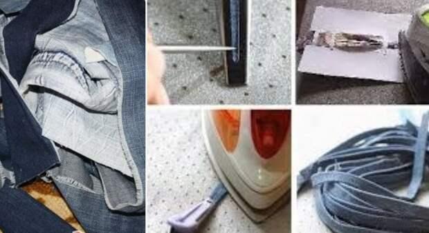 поделки из джинсовой ткани