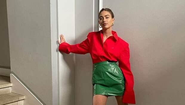 Не только Bottega: все лето носите вещи в ярко-зеленом оттенке