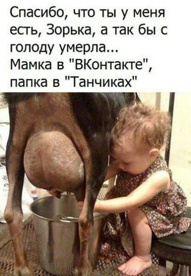 Бабка крутится перед зеркалом: - Дед, а дед...., ну как я выгляжу?...