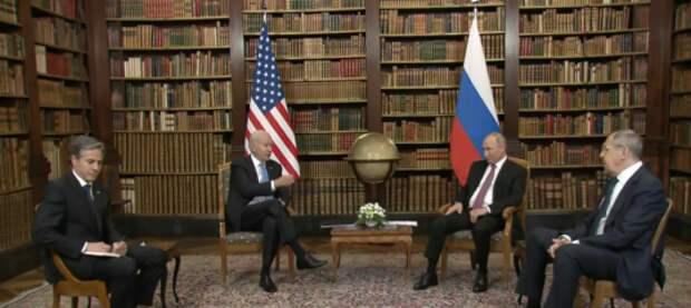 Байден  увидел  после переговоров с Путиным «подлинные перспективы» для улучшения отношений России и США