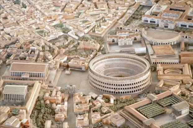 Архитектор потратил 38 лет, чтобы создать модель Древнего Рима