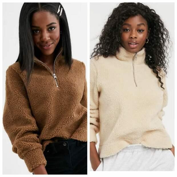 Плюшевый свитер: самый модный тренд сезона 2020/2021