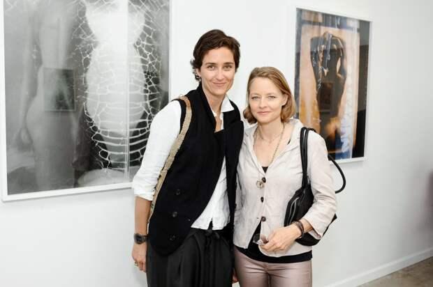 Джоди Фостер с женой