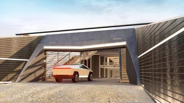 5 крутых фото дома в стиле Cybertruck, в котором можно пережить конец света