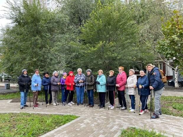 Занятия скандинавской ходьбой в Южнопортовом будут проходить в любую погоду