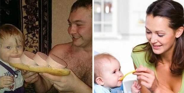 7 крутых отцов, которые доказывают, что «папа — это вам не мама!»