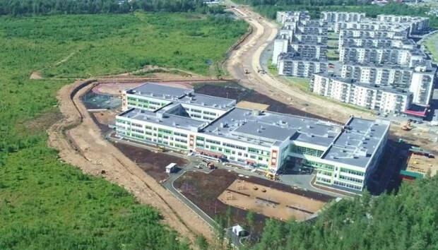 Здание новой школы на Древлянке передали городу