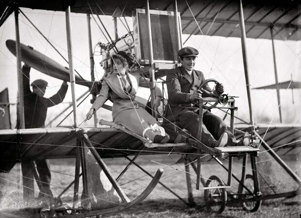 Самолеты и пилоты начала 20-го века на снимках американских фотографов (5)