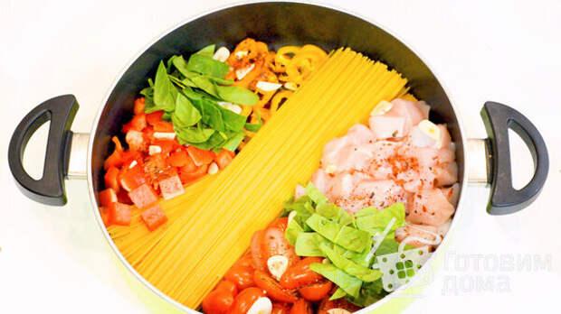 Быстрый Ужин в Одной Сковороде за 11 минут фото к рецепту 1
