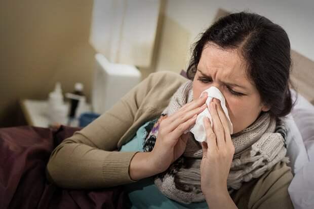 Ученые выяснили, симптомом какого заболевания может являться насморк