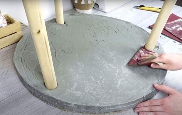 Стильный сканди столик: как быстро и просто сделать стол без специальных инструментов