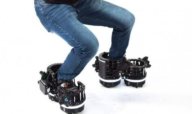 Ботинки Ekto One помогут «передвигаться» в виртуальном мире, оставаясь на месте в реальности