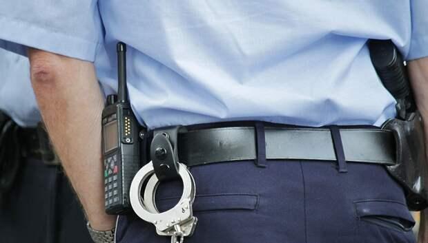 Житель Подольска украл серебряный крест и цепочку в досмотровой зоне склада