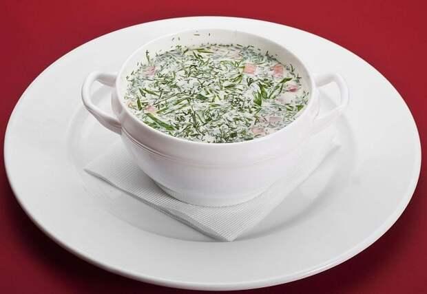 Творожный суп. \ Фото: google.com.