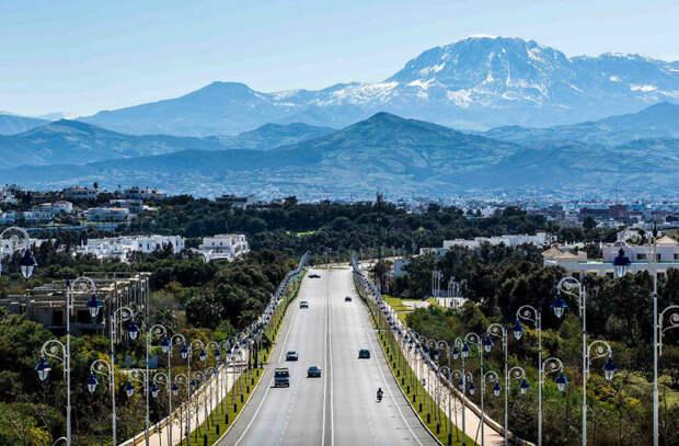 Окрестности города Тетуан, что на севере Марокко©M. Bouhsina