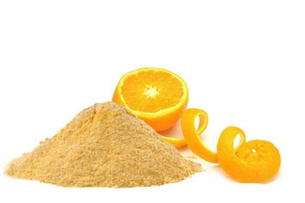 Апельсиновый порошок хорошо впитывает неприятные запахи. /Фото: static4.depositphotos.com
