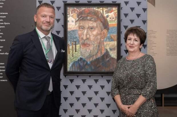 В Крыму открылась выставка «Малевич VS Филонов. Диалог двух школ»