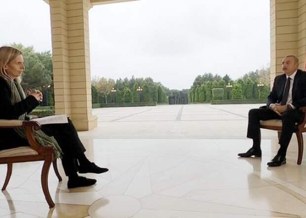 Как Алиев «отбрил» западную журналистку. Может, и Путину – так?