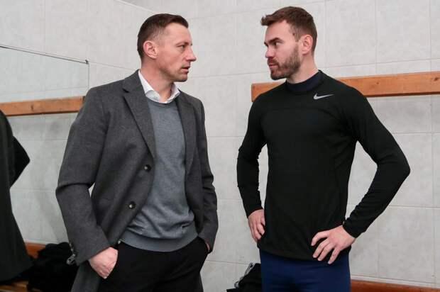 Олич на первой тренировке в ЦСКА обратился к команде на хорошем русском языке. Не забыл, значит