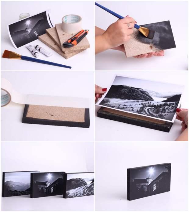 Прекрасное обрамление: фоторамки для ваших фотографий своими руками