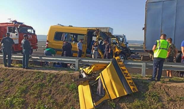 Крым выплатит семьям погибших в ДТП на «Тавриде» по миллиону рублей