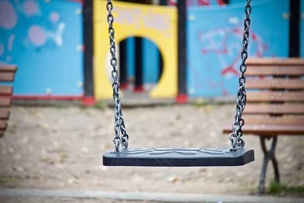 Свинг, Детская Площадка, Граффити