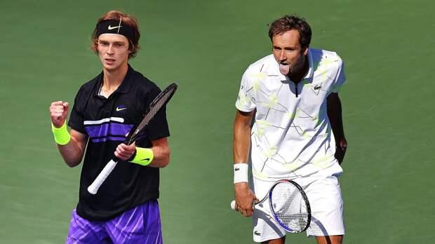 Даниил продолжит уничтожать своего главного теннисного друга. Прогноз на Медведев — Рублев