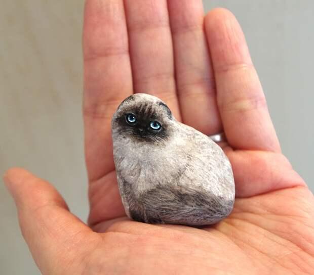 О том, как одна художница «оживляет» камни!