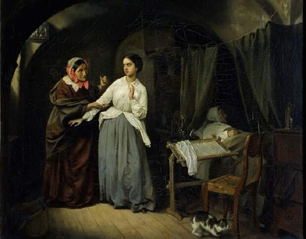 Николай Шильдер - «Искушение», 1856