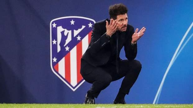 Симеоне: «Было бы несправедливо не назвать «Атлетико» фаворитом на победу в Ла Лиге»