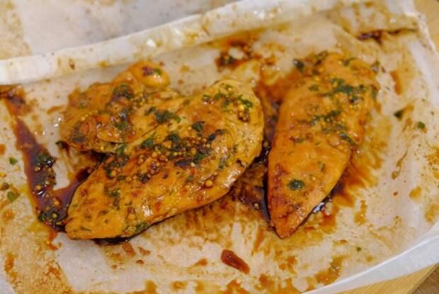 Куриное филе в пергаменте на сковороде Куриное филе, Рецепт, Видео, Длиннопост