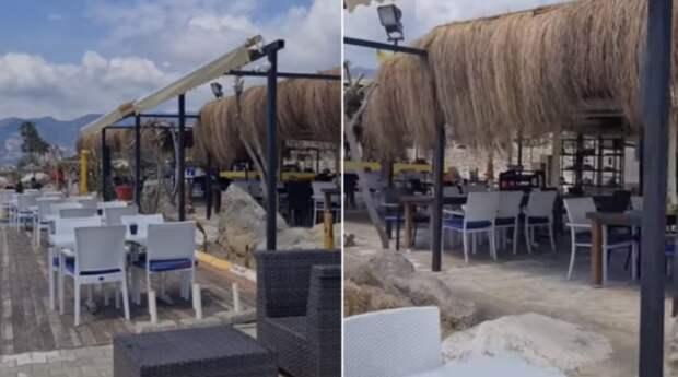 Жители Антальи показали, как выглядят турецкие пляжи без российских туристов