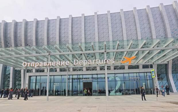 Обновлённый аэропорт «Симферополь» встретил первого пассажира 2