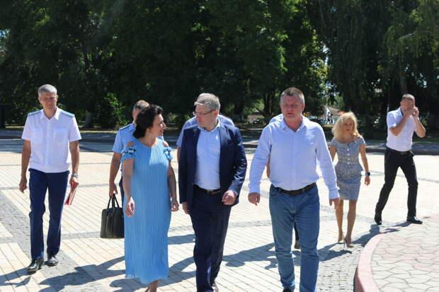 Реставрация Больших и Малых Митридатских лестниц идёт с опережением графика – Новосельская