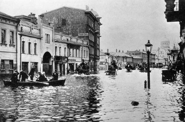 Наводнение 1908 года.