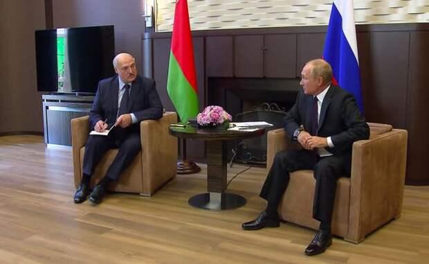 Путин иЛукашенко проведут встречу вконце февраля
