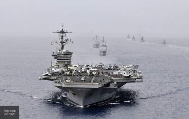 Американские СМИ узнали, как всего одна подлодка «потопила» авианосец США